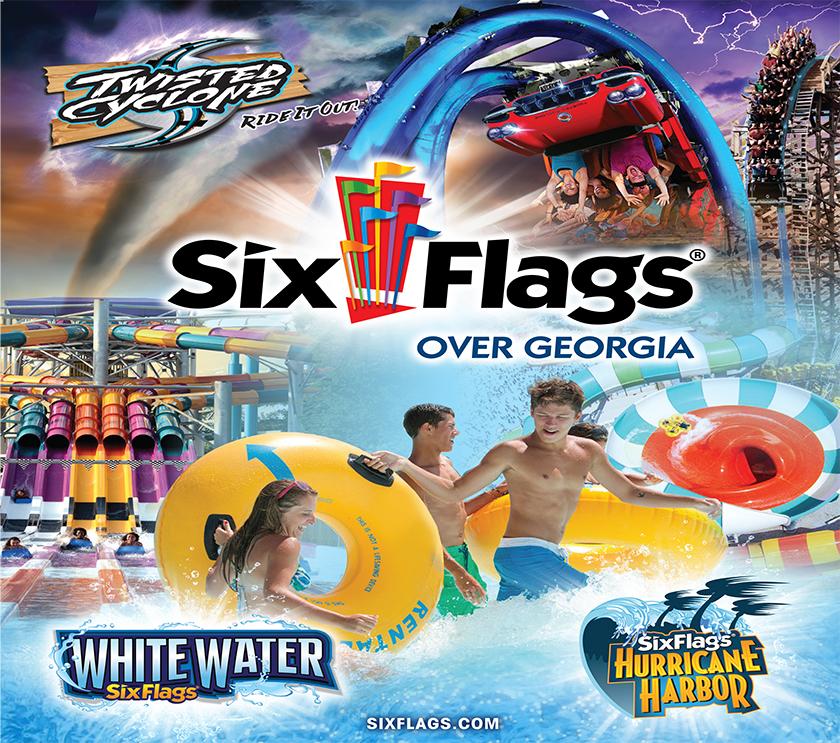 six flags flyer