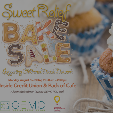 Sweet Relief Bake Sale